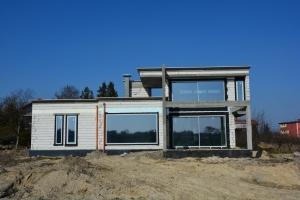 Dom jednorodzinny z wolnostojącym garażem w Mikołowie - pow. użytkowa 235 m2