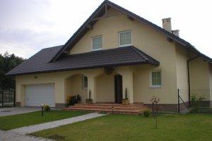 Osiedle 4 domów jednorodzinnych w Katowicach (2000 r.) - pow. użytkowa 200 m2